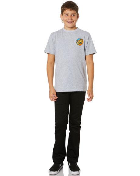 GREY MARLE KIDS BOYS SANTA CRUZ TOPS - SC-YTC1613GRML