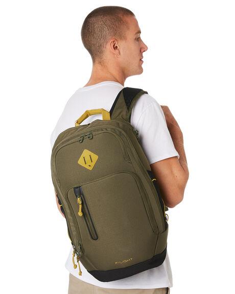MILITARY GREEN MENS ACCESSORIES RIP CURL BAGS + BACKPACKS - BBPWF10854