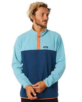 STONE BLUE DAM BLUE MENS CLOTHING PATAGONIA JUMPERS - 26165SBDB