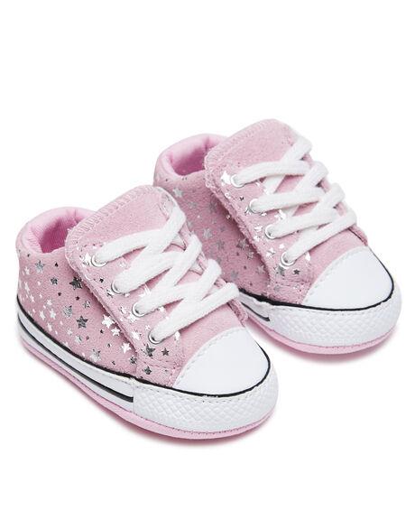 PINK GLAZE KIDS GIRLS CONVERSE SNEAKERS - 869282PGLZE