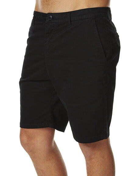 BLACK MENS CLOTHING SWELL SHORTS - S5164245BLK