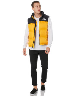 ZINNIA ORANGE MENS CLOTHING THE NORTH FACE JACKETS - NF0A3JQQH6G
