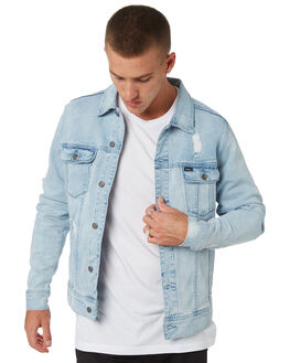 VINTAGE BLUE MENS CLOTHING RVCA JACKETS - R183446VNBLU