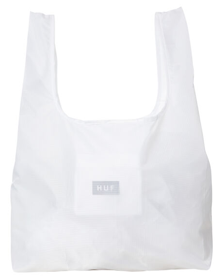 WHITE MENS ACCESSORIES HUF BAGS + BACKPACKS - AC00476-WHITE