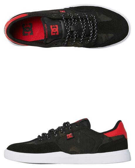 BLACK CAMO MENS FOOTWEAR DC SHOES SNEAKERS - ADYS100448BLO