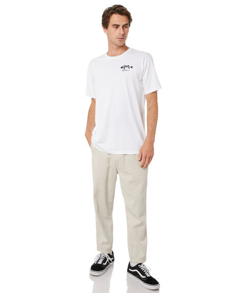 WHITE MENS CLOTHING DEPACTUS TEES - D5171002WHT