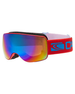MATT RED BLUE REVO SNOW ACCESSORIES CARVE GOGGLES - 6080REBL