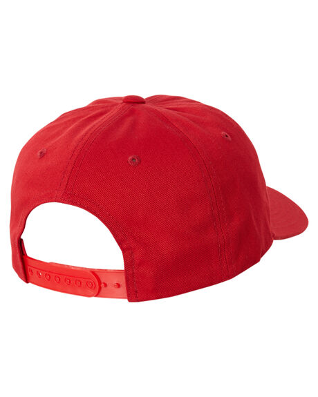 BLOOD RED WOMENS ACCESSORIES FLEX FIT HEADWEAR - 173102-BLD-OSFABRED