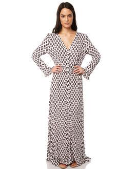 WHITE WOMENS CLOTHING TIGERLILY DRESSES - T381406WHT