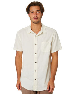 WHITE MENS CLOTHING RHYTHM SHIRTS - JAN19M-WT03-WHT
