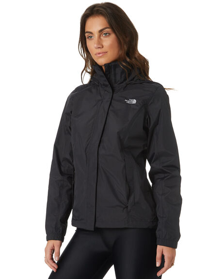 BLACK WOMENS CLOTHING THE NORTH FACE JACKETS - NF0A2VCUJK3BLK