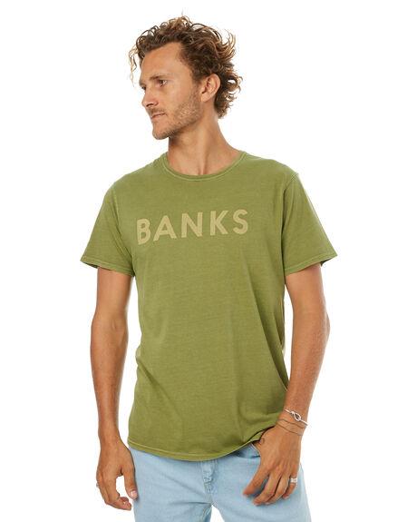 MOSS MENS CLOTHING BANKS TEES - SMTS0001MSS