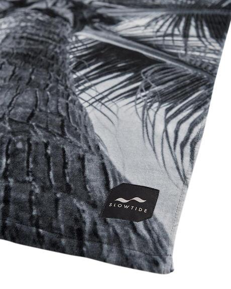 BLACK MENS ACCESSORIES SLOWTIDE TOWELS - ST035ABLK