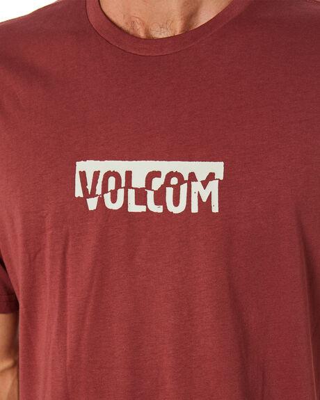 FLOYD RED MENS CLOTHING VOLCOM TEES - A5001943FLD