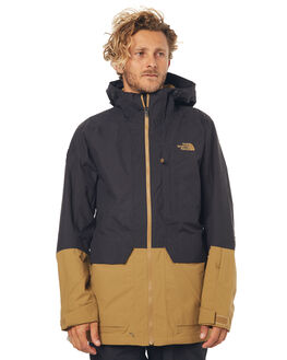 BLACK KHAKI SNOW OUTERWEAR THE NORTH FACE JACKETS - NF0A332RWVWBLKKH