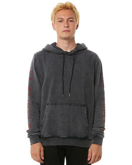 BLACK MENS CLOTHING THE PEOPLE VS JUMPERS - AW18049BLK