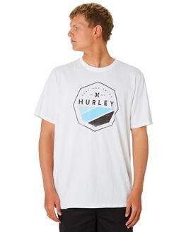 WHITE MENS CLOTHING HURLEY TEES - CD7594100