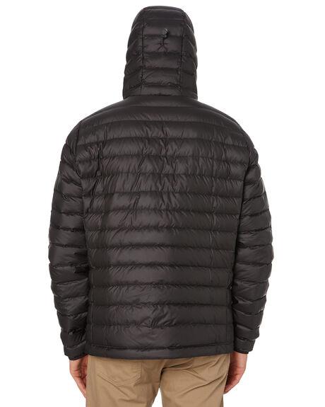 BLACK MENS CLOTHING PATAGONIA JACKETS - 84701BLK
