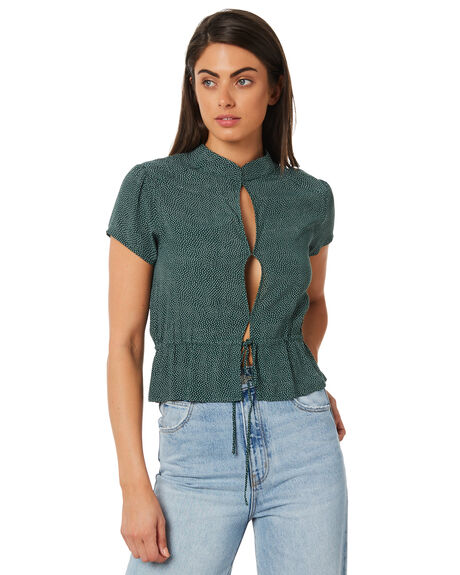 GREEN SPOT WOMENS CLOTHING ROLLAS FASHION TOPS - 127724049
