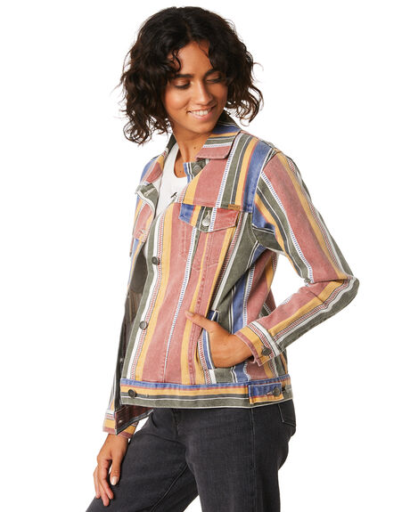 MULTI WOMENS CLOTHING RVCA JACKETS - R293440MUL