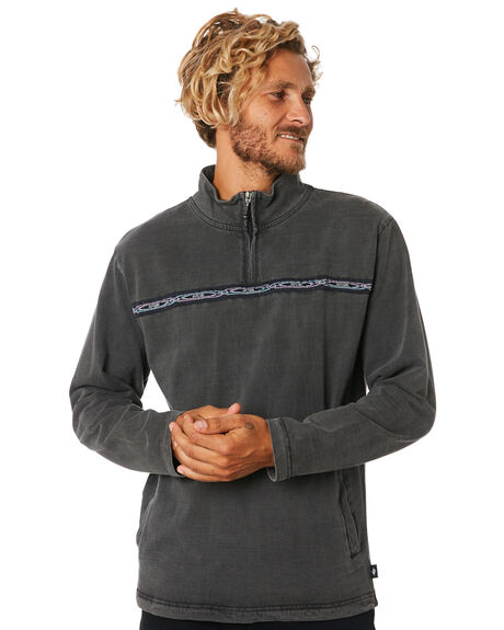 JET BLACK MENS CLOTHING RIP CURL JUMPERS - CFEAD94284