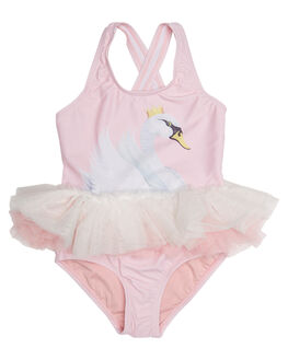 SWAN LAKE KIDS TODDLER GIRLS ROCK YOUR BABY SWIMWEAR - TGSWANLASWN