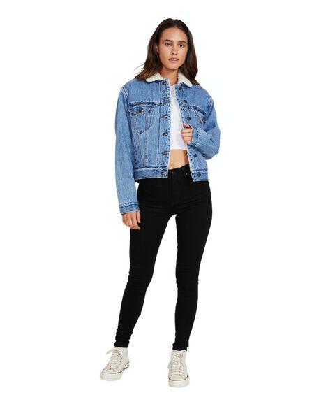 BLUE WOMENS CLOTHING INSIGHT JACKETS - 35742000023