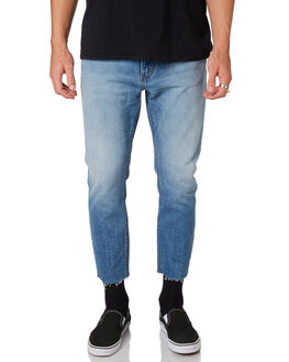 GARAGE BLUE MENS CLOTHING A.BRAND JEANS - 812564299