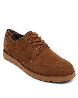 BROWN MENS FOOTWEAR KUSTOM FASHION SHOES - KS-K901103-BRN