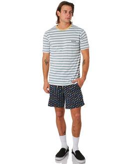 NAVY FLAG MENS CLOTHING BARNEY COOLS BOARDSHORTS - 809-CC3NVFLG