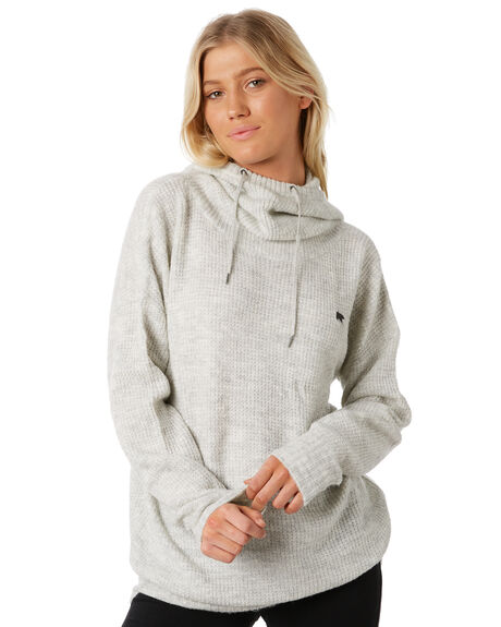 GREY WOMENS CLOTHING ELEMENT KNITS + CARDIGANS - 288422GRY