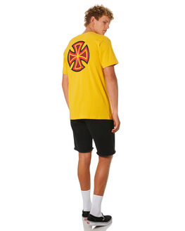 CANARY OUTLET MENS INDEPENDENT TEES - IN-MTD9316CNRY