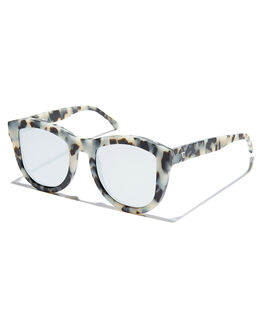 MATTE SNOW LEOPARD WOMENS ACCESSORIES VALLEY SUNGLASSES - S0172MSLES