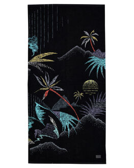 BLACK MENS ACCESSORIES BILLABONG TOWELS - 9695706ABLK