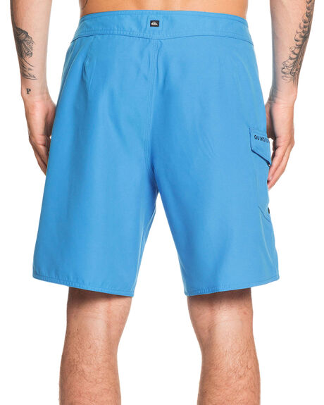 PUNCH BLUE MENS CLOTHING QUIKSILVER BOARDSHORTS - EQYBS04234-BNR0