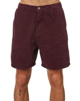 GRAPE MENS CLOTHING NO NEWS SHORTS - N5201233GRAPE