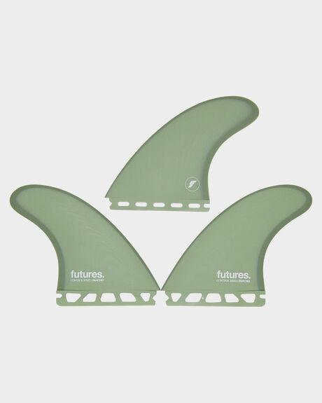 GREEN BOARDSPORTS SURF FUTURE FINS FINS - 1109-237-00GRN