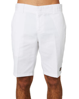 WHITE MENS CLOTHING DICKIES SHORTS - WR872WHI