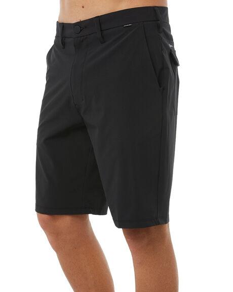 BLACK MENS CLOTHING HURLEY SHORTS - 895082010