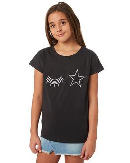 SOFT BLK KIDS GIRLS MUNSTER KIDS TEES - MM181TE04BLK
