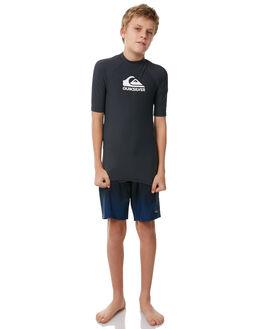 DARK GREY BOARDSPORTS SURF QUIKSILVER BOYS - EQBWR03041KVA0