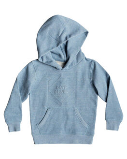 ORAGE BLUE HEATHER KIDS BOYS QUIKSILVER JUMPERS + JACKETS - EQKFT03275-BJNH