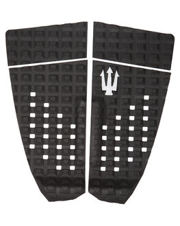 BLACK WHITE SURF HARDWARE FAR KING TAILPADS - 1224BLKWH