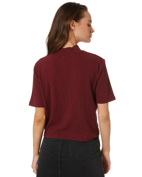 RED OUTLET WOMENS SWELL TEES - S8202013RED