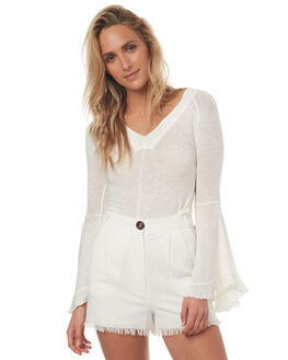 IVORY WOMENS CLOTHING FREE PEOPLE FASHION TOPS - OB6901911103