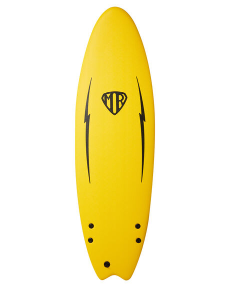 YELLOW BOARDSPORTS SURF OCEAN AND EARTH SOFTBOARDS - SESO60MRYEL