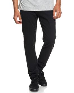 BLACK MENS CLOTHING QUIKSILVER PANTS - EQYNP03140KVJ0