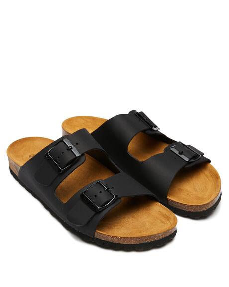 BLACK WOMENS FOOTWEAR SWELL FASHION SANDALS - 100010LBLACK