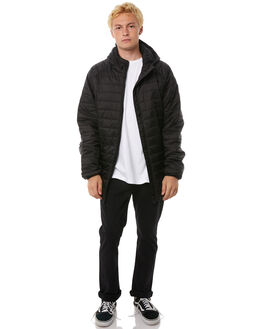 BLACK MENS CLOTHING BILLABONG JACKETS - 9585908BLK