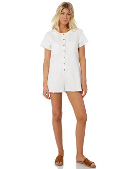 WHITE WOMENS CLOTHING SWELL PLAYSUITS + OVERALLS - S8188449WHITE